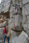 Rock Climbing Photo: Boy scout ledges