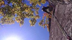 Rock Climbing Photo: I really liked this shot..