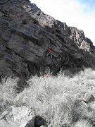 Rock Climbing Photo: FA Clean Energy