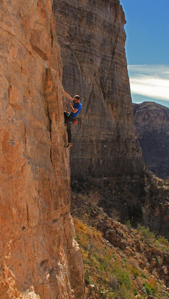 Jeffery midway on the route <br> Little Iliad (5.9)