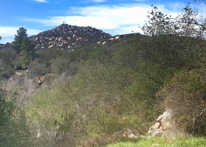 Rock Climbing Photo: Woodson from Dos Picos County Park in Ramona
