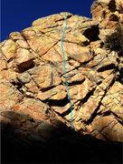 Rock Climbing Photo: La-Z-Boy, 10a.