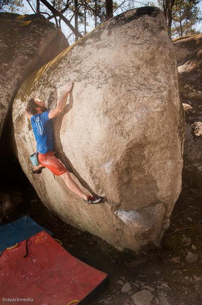 Rock Climbing Photo: Eraser - V6.