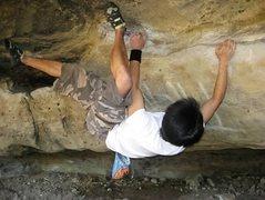 Rock Climbing Photo: near the start - no pads needed