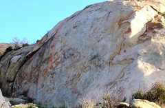 Rock Climbing Photo: Old Aid route now free