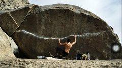 Rock Climbing Photo: Legendary Problem