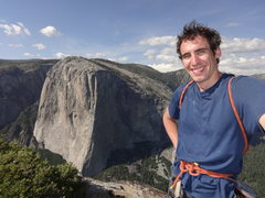 Rock Climbing Photo: Atop the Northeast Buttress of Higher Cathedral.