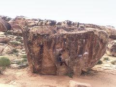 Rock Climbing Photo: Fun climb in a good easy warm-up area.