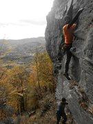 Rock Climbing Photo: At the start...