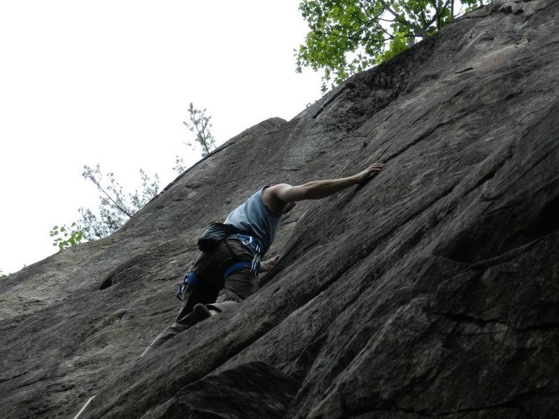 Rock Climbing Photo: taking a pause....