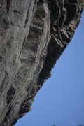 Rock Climbing Photo: The nice exposure coming around the arete late in ...