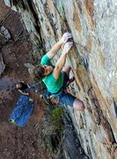 Rock Climbing Photo: Adam Drain on The Wall
