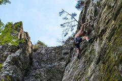 Rock Climbing Photo: Kyle Drain on Excellent Adventure.