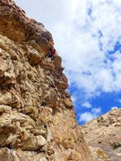 Rock Climbing Photo: At the roof of Medula Oblongata. John Lucido, Marc...