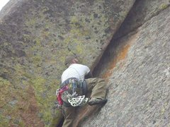 Rock Climbing Photo: Some wide stuff in the voo