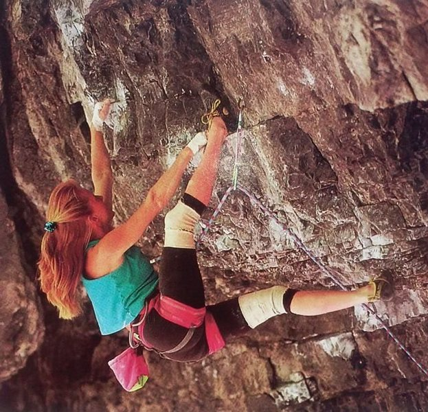 Lisa Gnade on Melting (5.13a), American Fork Canyon <br> <br> Photo by Brian Bailey (http://www.brianbaileyphotography.com/)