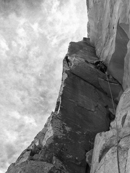 Rock Climbing Photo: Super splitter pitch 4!!!!