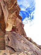 Rock Climbing Photo: Such a cool pitch on Jubilant!!!