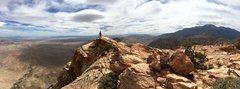 Rock Climbing Photo: Pano of the summit looking Southeast on Windy Peak...