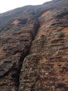 Rock Climbing Photo: Base of Bat's Meow.