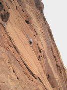 Rock Climbing Photo: Superb slab climbing
