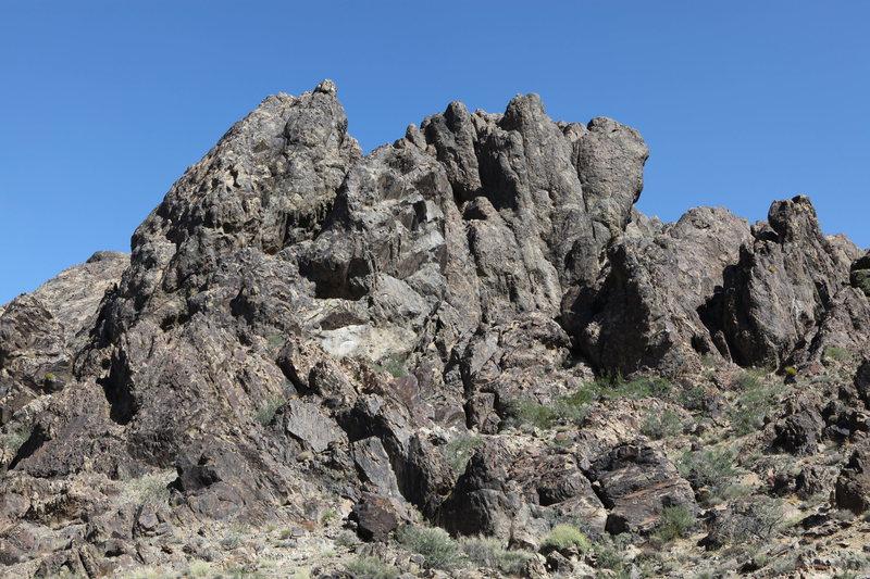 Rock Climbing Photo: Cliffs of Insanity