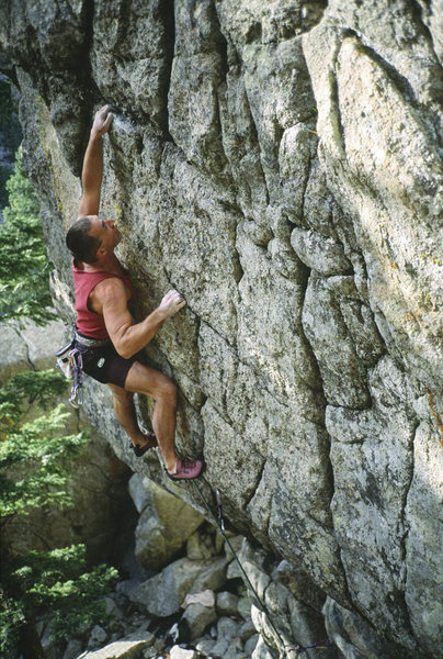 Rock Climbing Photo: Steve Monks on Ripcord.