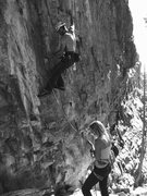 Rock Climbing Photo: Muricuh 5.12. And my sweets!