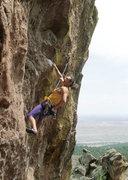 Rock Climbing Photo: Steve Haston, New Saigon, a couple decades ago.