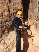 Rock Climbing Photo: Davis
