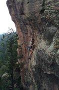 Rock Climbing Photo: Sean on Silver Back 12.c