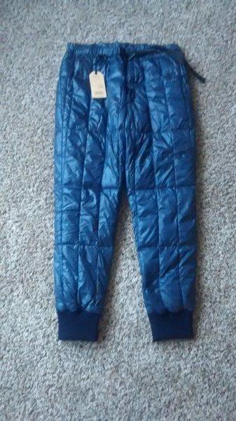 snow peak down pants size large