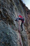 Rock Climbing Photo: Crux of Me Voy a Venir