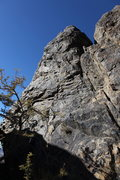 Rock Climbing Photo: View from the base of Cosgrove Tower