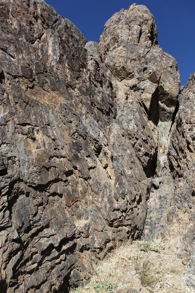 Rock Climbing Photo: Hidden Grotto belay area