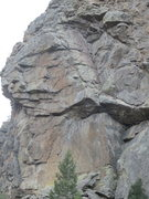 Rock Climbing Photo: Another view of the Iron Buttress.
