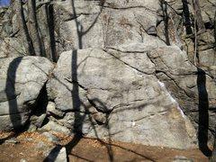 Rock Climbing Photo: History of Flight Boulder