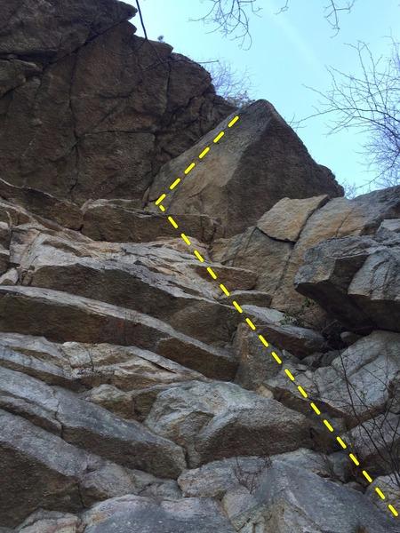Rock Climbing Photo: Topeka