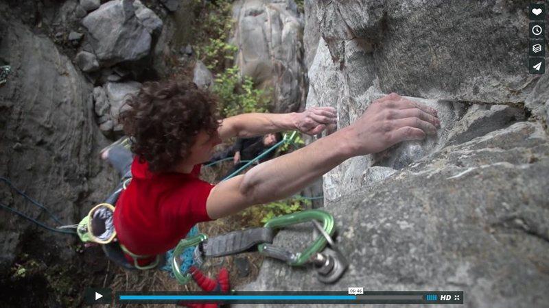 Rock Climbing Photo: Poor bolt placement