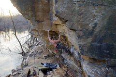 Rock Climbing Photo: Rocket Man 5.10 3-8-16