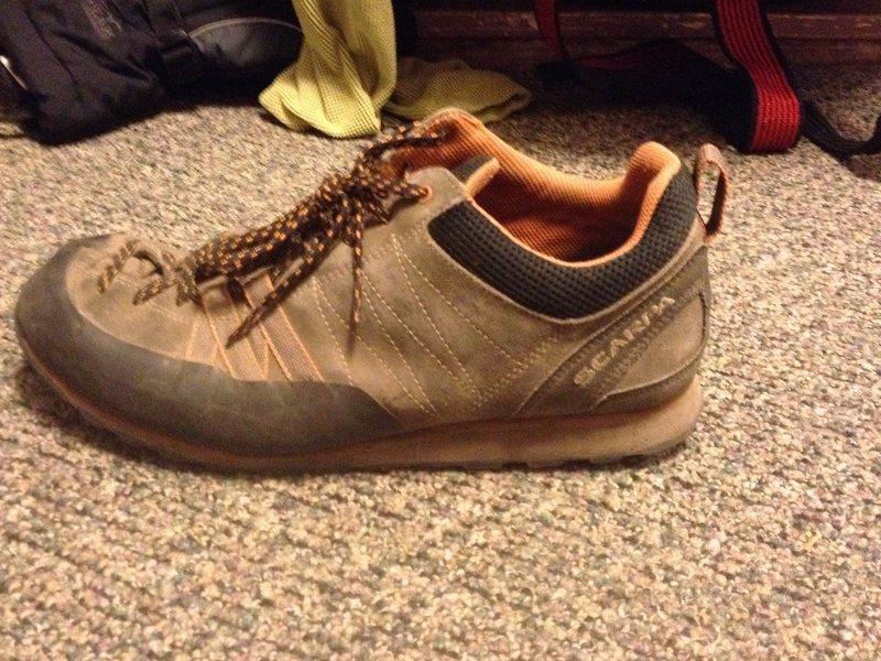Rock Climbing Photo: shoe