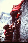 Rock Climbing Photo: Another way- George Meyers (later to found Chockst...
