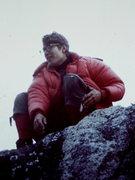Rock Climbing Photo: George on Top