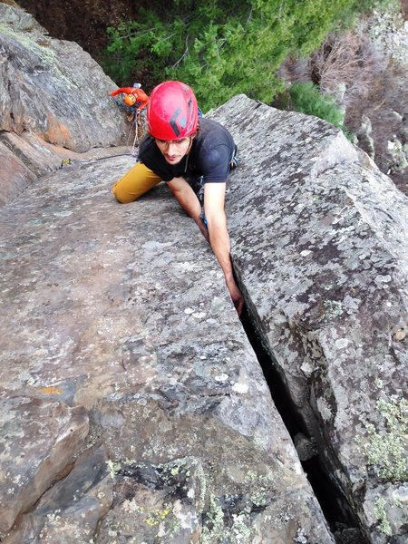 Rock Climbing Photo: Old mother nature's recipes. That bring the bare n...