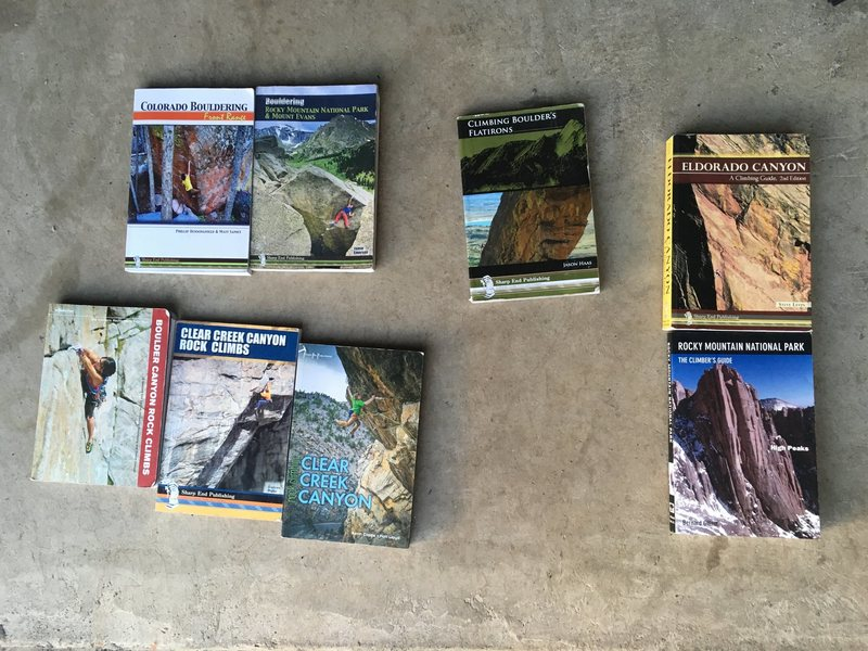 Guidebooks for sale