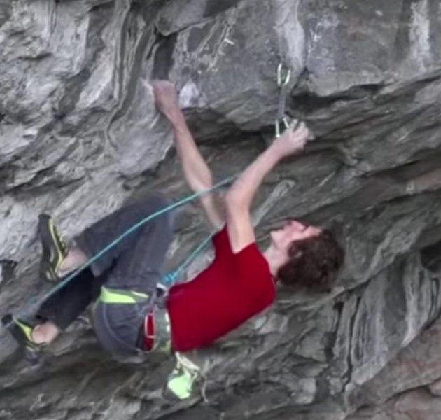 Rock Climbing Photo: draw