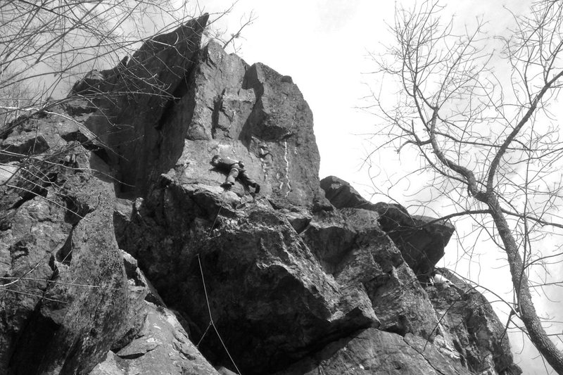 Rock Climbing Photo: different take on that