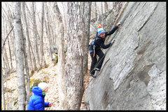 Rock Climbing Photo: torie getting slabbish