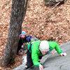 Alec climbing, torie creepin