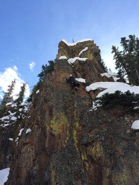Rock Climbing Photo: TR on M7